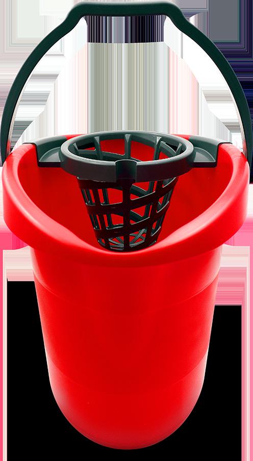 BONUS piros/gránit felmosóvödör