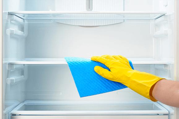Rendszeres hűtőtakarítás!