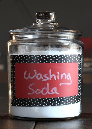 Használj mosószódát a kendők tisztításához