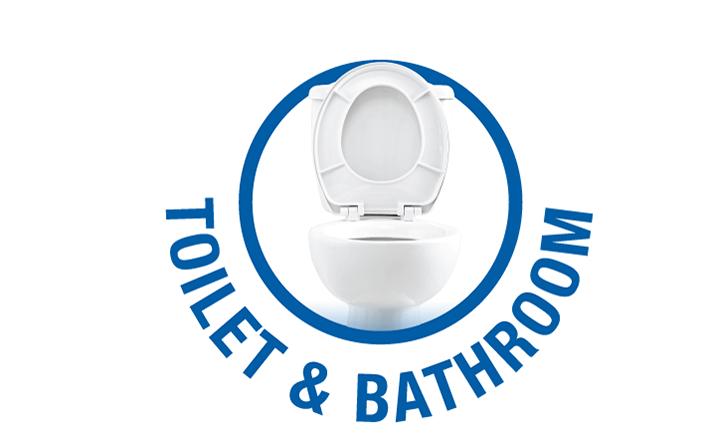 WC-hez és fürdőszobához