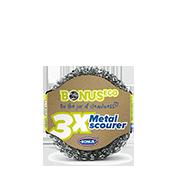 Metal scourer 3x