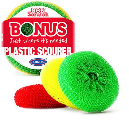 B095 Bonus plastična žica za inox i teflon u pakiranju od  3/1