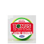 Plastic scourer 3x