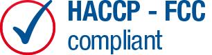 HACCP és FCC tanúsított