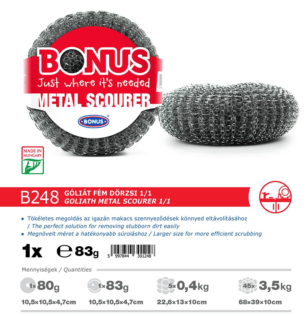 B248 Bonus Góliát fém dörzsi katalógus adatok