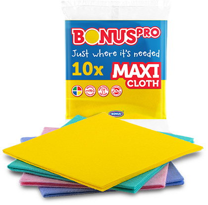 B259, B273, B297, B310 BONUSPRO MAXI kendő 10/1 csomagolásában