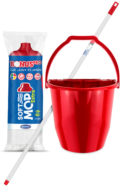 B330 BonusPRO SoftMOP EXTRA SET brisač za pod