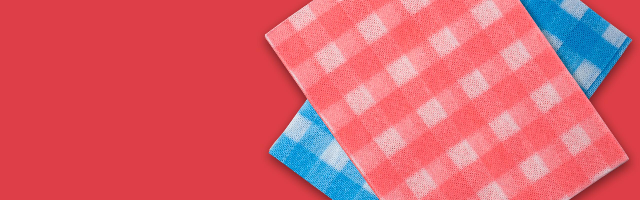 Ein Tuch zum Abwischen und Waschen