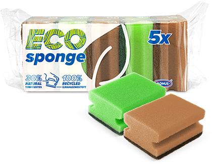 B385 BONUS Formázott mosogatószivacs csomagolásában 5/1 csomagolásában
