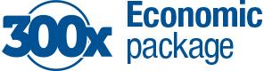 300x ekonomično pakovanje