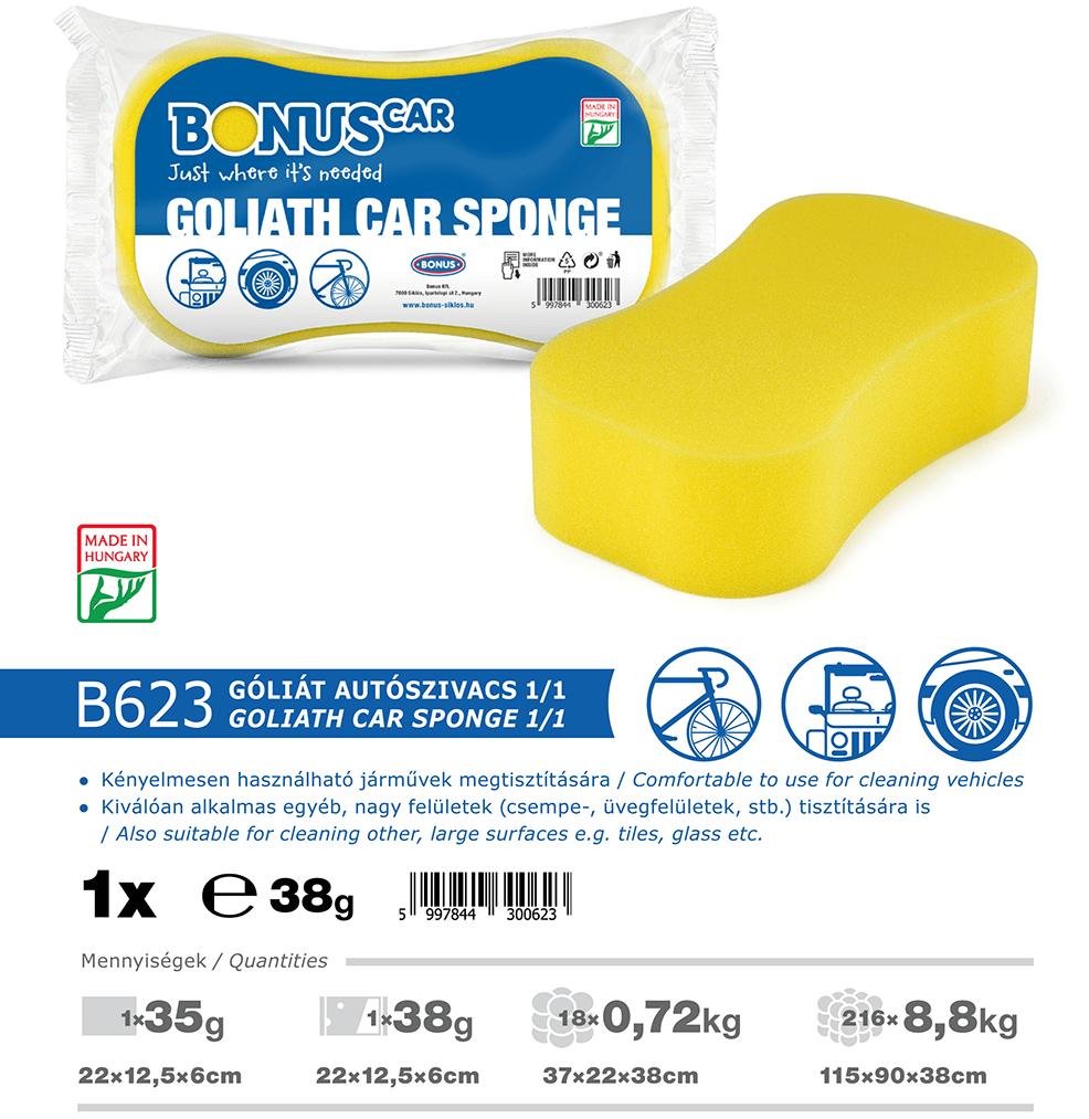 B623 BonusCAR góliát autószivacs 1/1 katalógus adatok