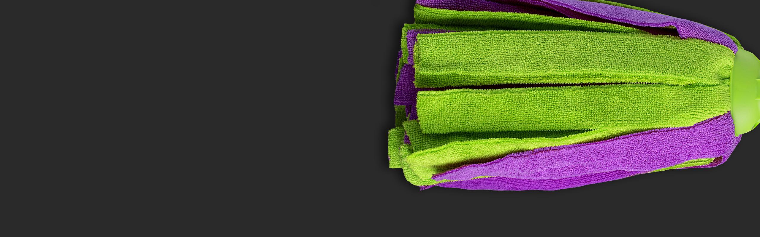 A felmosófejek sztárja, a mikroszál erejével