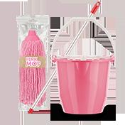 PinkMOP szett