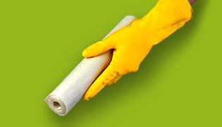 Sponge cloth roll