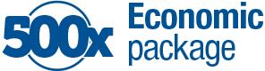 500x ekonomično pakovanje
