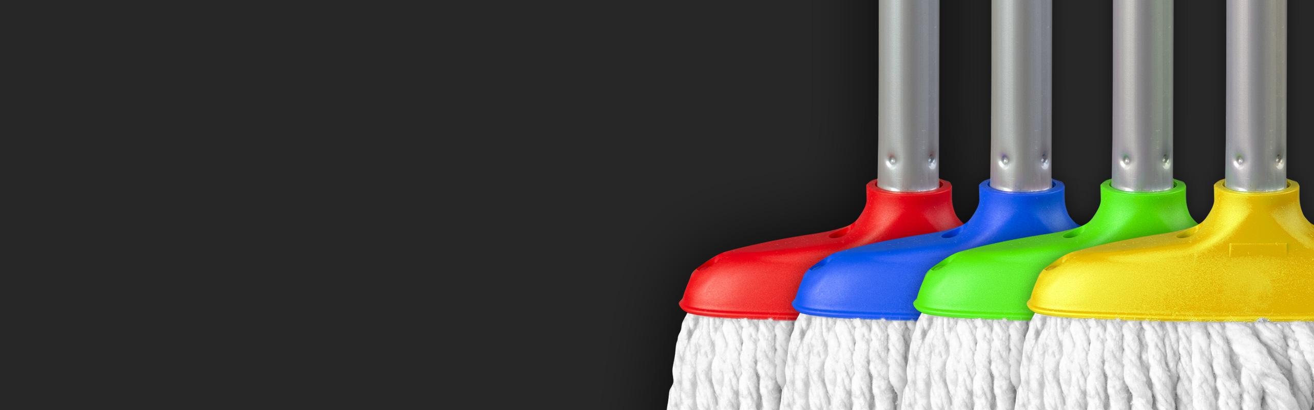 Professioneller Mopp für professionelle Sauberkeit
