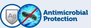 Antimikrobiális ezüst védelem